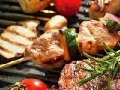 - Barbecue vlees -