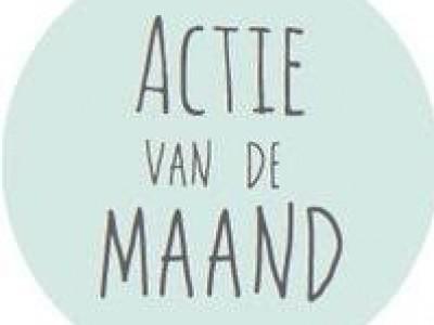 - Actie's v/d maand -