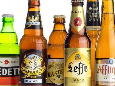 - Blonde bieren -