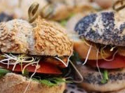 - Mini broodjes -