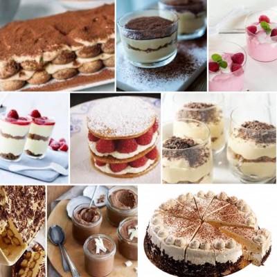 - Desserten -
