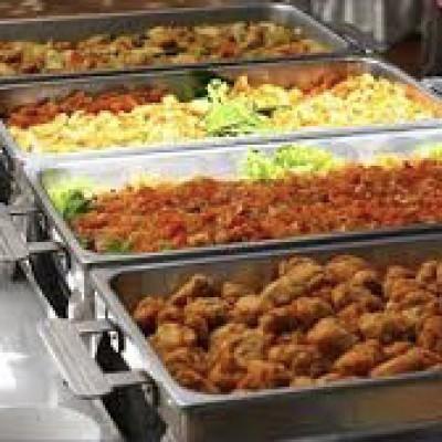 Warm buffet de luxe vlees