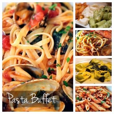 Pastabuffet voor groepen