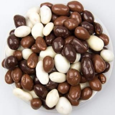 Chocolade pinda mix / 250 gr