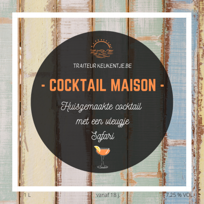 Cocktail maison / liter