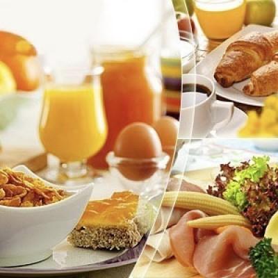 Ontbijttafel de luxe / pers.
