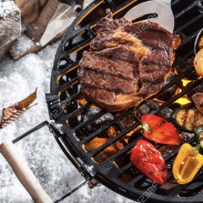 Winter barbecue