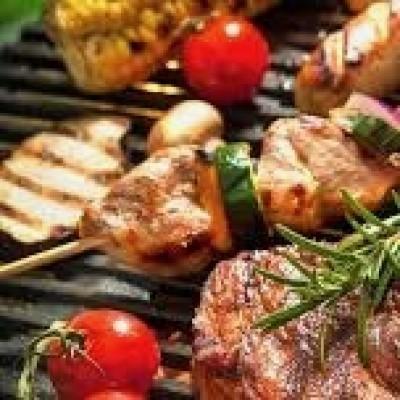 Bbq de luxe vlees