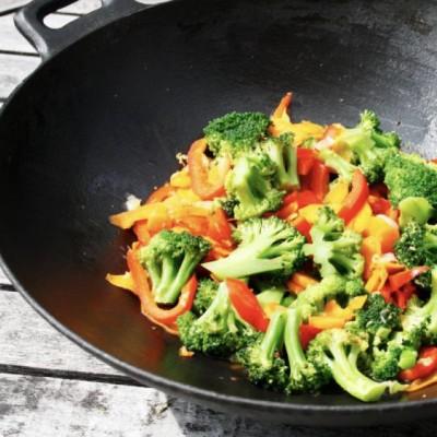 Gewokte groentenmix