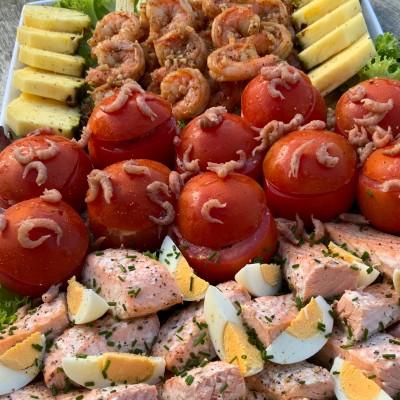 Koud buffet vis