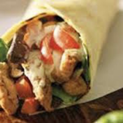 Wrap scampi / st.