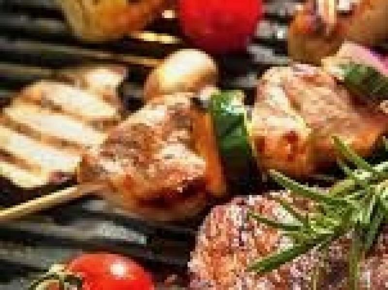 Bbq bourg. vlees