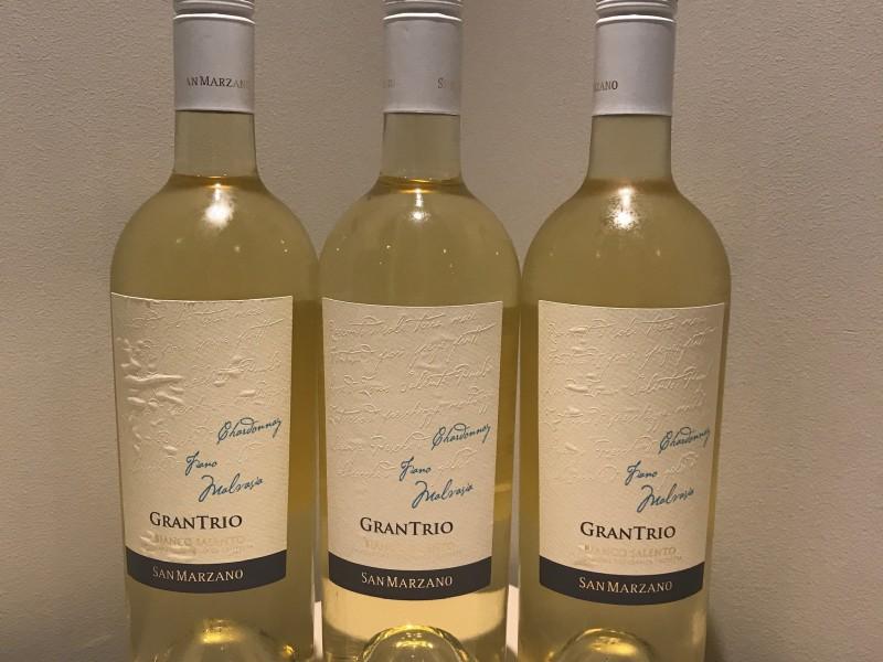 Gran Trio Bianco Salento / fles