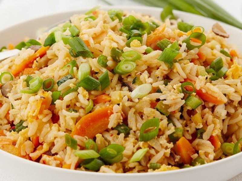 Rijst met fijne groentjes / kg