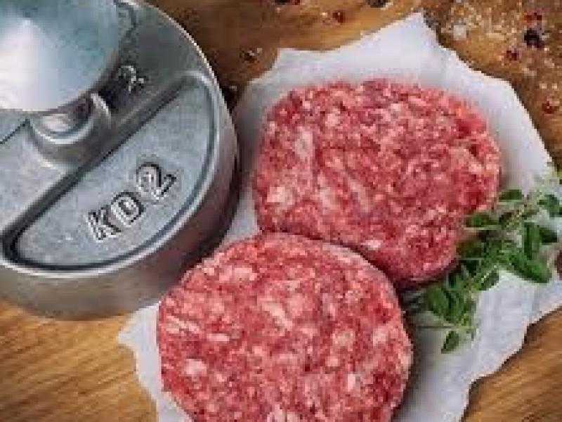 Hamburger - wolgroenten  / pers.