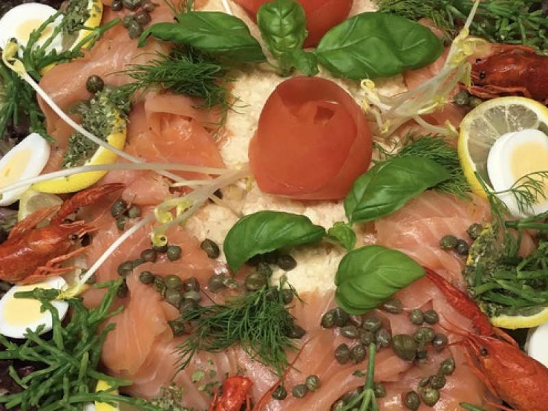 Koud buffet classic vis