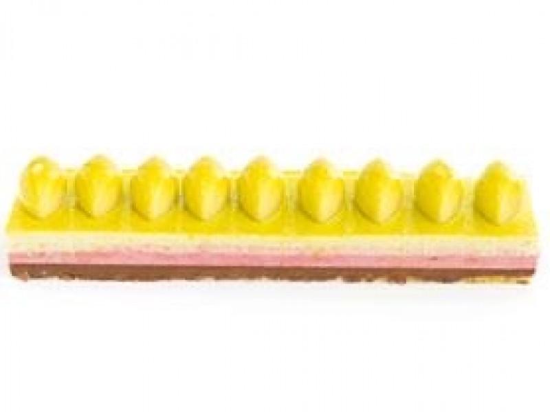 Bavarois yellow / taart