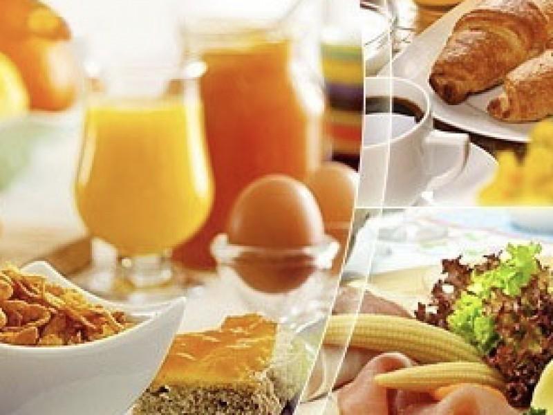 Ontbijttafel de luxe