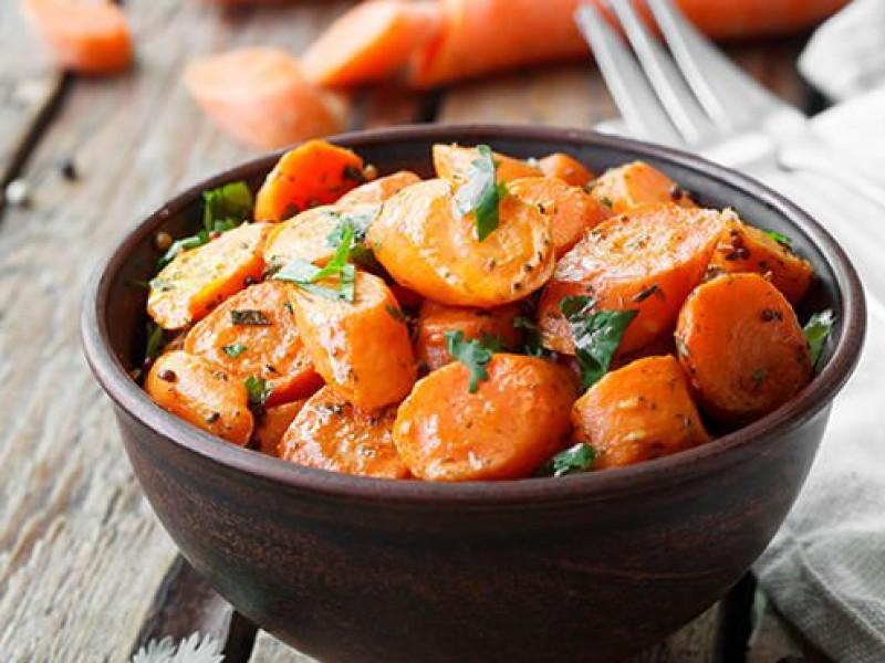 Gewokte wortelen