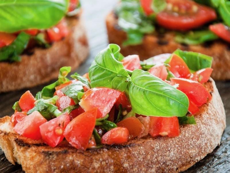 Bruchetta tomaat / st.