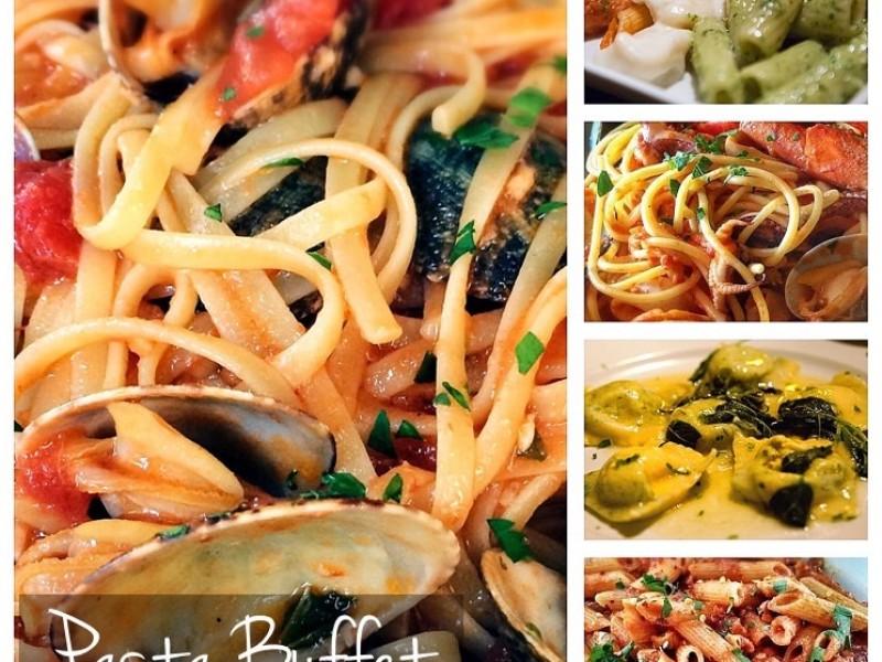Pastabuffet trio classic