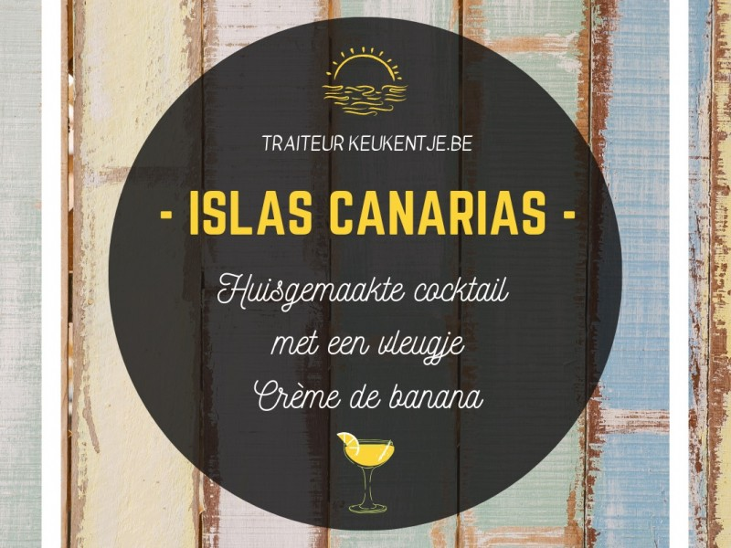 Cocktail islas canarias / liter