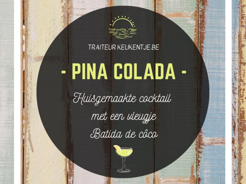 Cocktail pina colada / liter