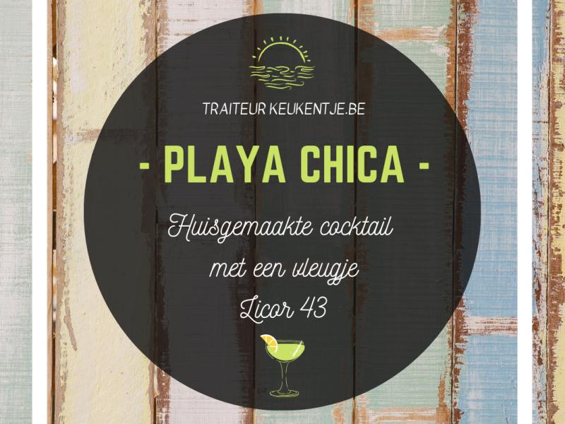 Cocktail playa chica / liter