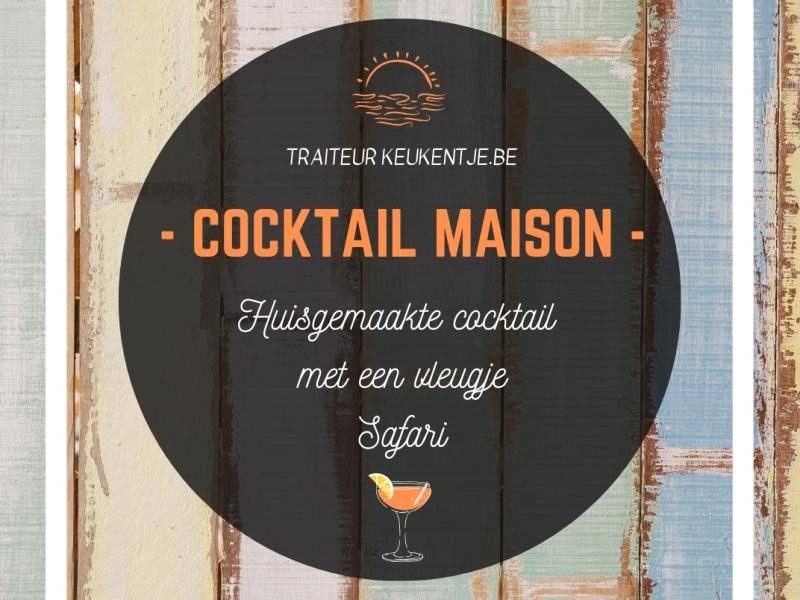 Cocktail maison / liter