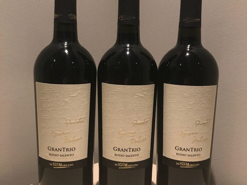 Gran Trio Rosso Salento / fles