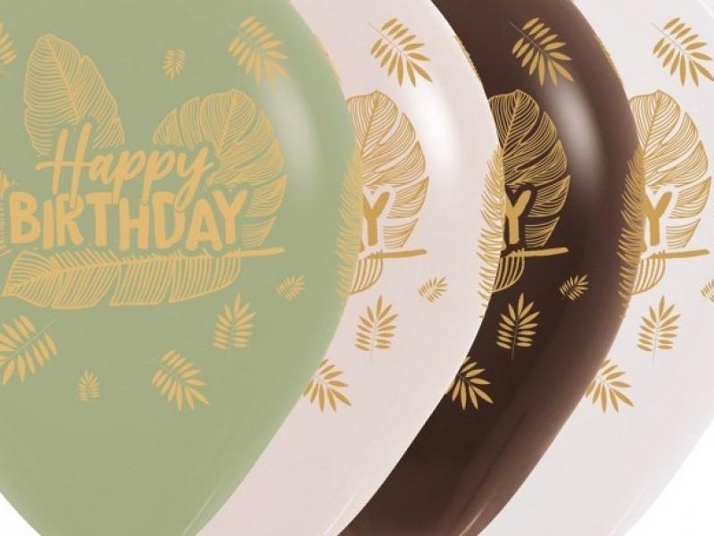 R12 Happy birthday / 6 st